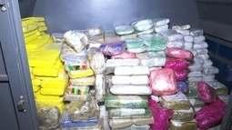 PRF apreende 317kg de pasta base de cocaína durante fiscalização em RO