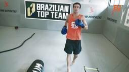Thiago Asmar mostra seu ritmo de treinamentos com lutas funcionais e na praia
