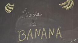 Rota do Sol - Receita: Farofa de Banana