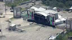 Tudo pronto para o Lollapalooza, que começa sábado (25), em Interlagos