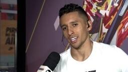Titular da Seleção, Marquinhos fala que quer voltar ao Corinthians um dia