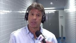 Renato Gaúcho elogia atitude de jogadores em vitória do Grêmio