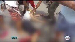 Família de manifestante baleado durante protesto fala sobre estado de saúde do jovem