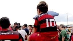 Clima entre torcidas de Flamengo e Vasco no Mané Garrincha foi bom