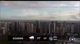 Temperatura em Goiânia não deve passar dos 29 ºC nesta segunda-feira em Goiânia