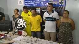 Suspeitos de roubo em condomínio de luxo são presos em Manaus