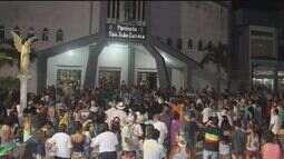 Grupo faz manifestação contra construção de usina em Peruíbe