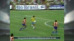 Leandro e Romerito relembram duelos entre Brasil e Paraguai nos anos 80