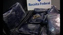 RF apreende mais de 11 kg de maconha no aeroporto de Belém