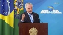 'Agroindústria brasileira é sinônimo de excelência, inovação e competitividade', diz Temer