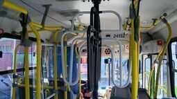Nova versão de roleta alta é testada em ônibus do Transcol no ES