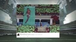 Giro pelas redes sociais: mosaico do Fla rende na internet e Felipe Melo faz ação social