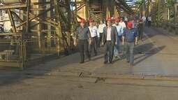 Comitiva boliviana visita o Porto Organizado de Porto Velho