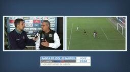 Diretor de futebol do Santos descarta saída de Dorival em caso de derrota