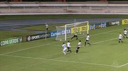 Paysandu toma susto, mas vence o Santos-AP e garante vaga na final da Copa Verde