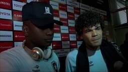 Sassá e Camilo analisam empate do Botafogo e falam sobre duelo contra o Flamengo