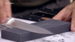 Aprenda a afiar suas facas com Ricardo Vilar