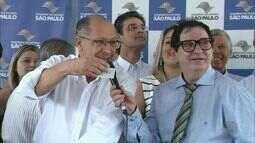 Governador Geraldo Alckmin visita a região de Ribeirão Preto para sortear casas populares