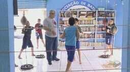 Projeto social ensina boxe para crianças carentes de Rio Claro