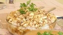 Inter TV Rural apresenta prato culinário com lula