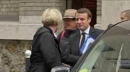 Le Pen e Macron já estão em campanha para 2º turno das eleições na França