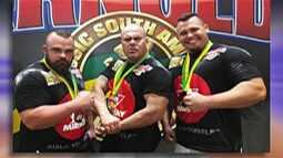 Strongmonsters de Mogi das Cruzes marcam presença no Arnold Classic South America