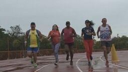 Torneio de atletismo reúne atletas da categoria master