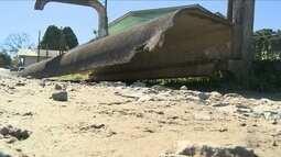 Polícia investiga morte de mulher em ponto de ônibus de Araquari