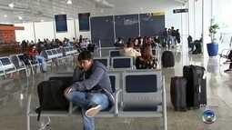 Neblina atrasa voos e prejudica passageiros em aeroporto de Rio Preto