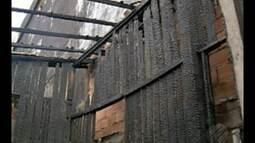 Incêndio destrói casa de madeira no Jurunas