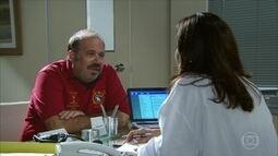 Homem no ginecologista