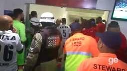Após Ba-Vi, jogadores e comissão técnica de Bahia e Vitória se desentendem