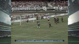 Relembre confronto entre Corinthians e Vitória no Brasileirão de 1993