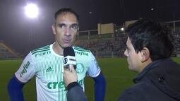 Fernando Prass diz que Palmeiras tomou gol de contra-ataque quando tinha bola a favor