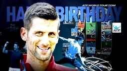 Nadal, Murray Cilic... Tenistas dão os parabéns a Djokovic pelo aniversário de 30 anos