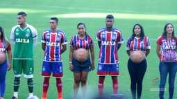 TV Bahêa - A estreia do Bahia contra o Atlético-PR teve homenagem ao Dia das Mães