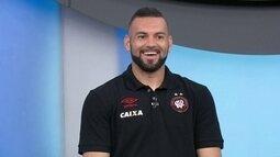 "Weverton comenta fama de ""pegador de pênaltis"""