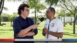 Serginho diz que realiza sonho ao jogar no Corinthians