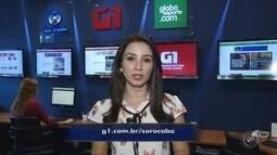 Confira os destaques do G1 de Sorocaba e Jundiaí com Mayara Corrêa