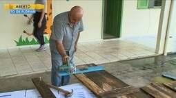 Comunidade se une para ajudar a reformar escolas de Criciúma
