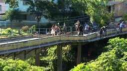 Moradores de Barra do Piraí enfrentam transtornos com ponte interditada