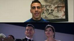 Arena Corinthians recebe casamento, e jogadores enviam mensagens