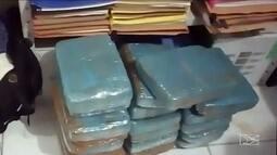 Homem é preso com 19 kg de maconha em sacolas em Santa Inês