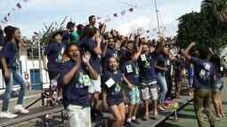 Gincana da Festa do Divino reúne jovens em Paraty, RJ
