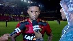 André comenta discussão entre Rithely e Rogério na vitória do Sport sobre o Grêmio
