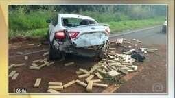 Polícia apreende uma tonelada de maconha em carro em MS