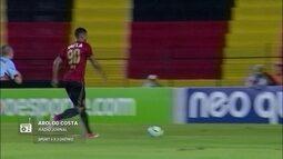 Redação AM: Aroldo Costa narra terceiro gol de André para o Sport contra o Grêmio