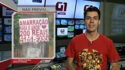 G1 em 1 Minuto: Vidente é multada em R$ 4 mil por espalhar cartazes em Santos