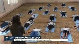 Escola coloca alunos para meditar e melhora rendimento nas aulas