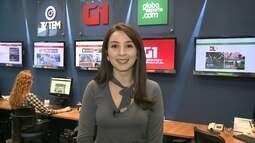 Mayara Corrêa mostra as principais notícias do G1 no noroeste paulista nesta sexta-feira